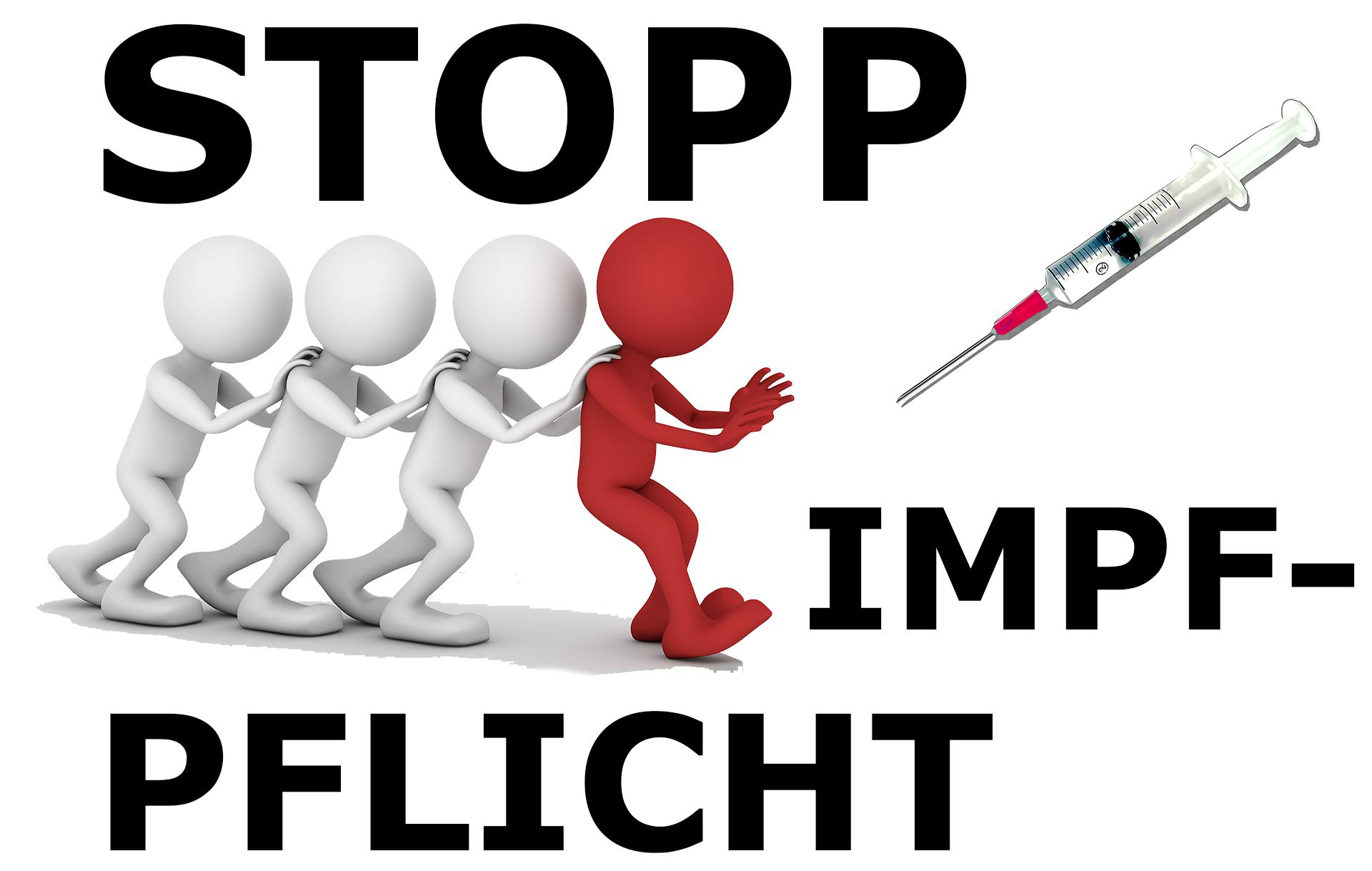 «Für Freiheit und körperliche Unversehrtheit (STOPP Impfpflicht)»